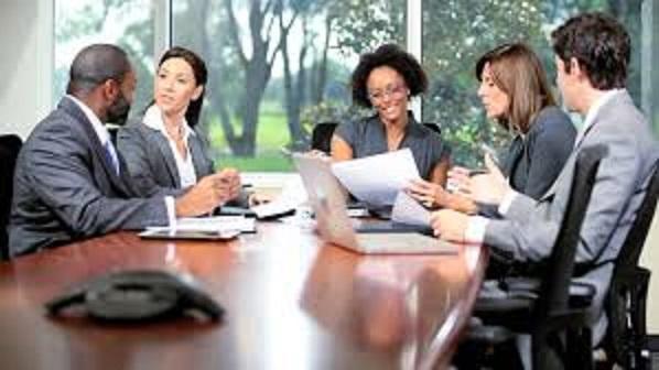 team meeting- abraham legal services