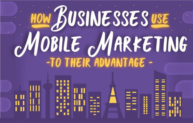 How Businesses Use Mobile Marketing to Their Advantage