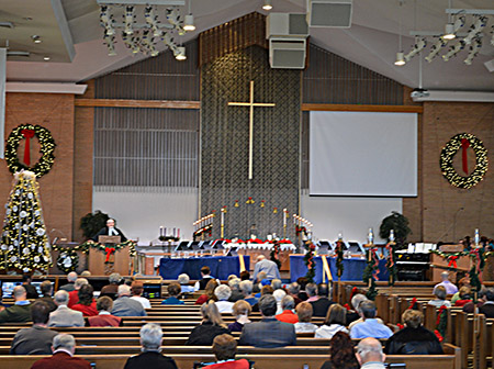 Sanctuary Service at Central United Methodist Church