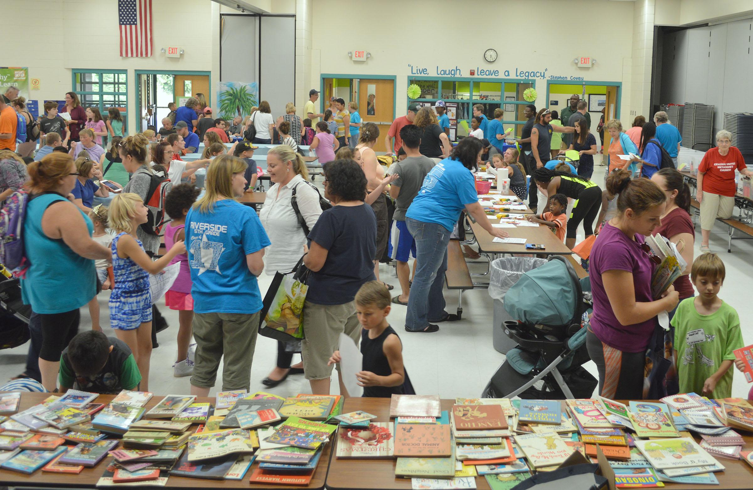 Riverside Elementary Book Exchange