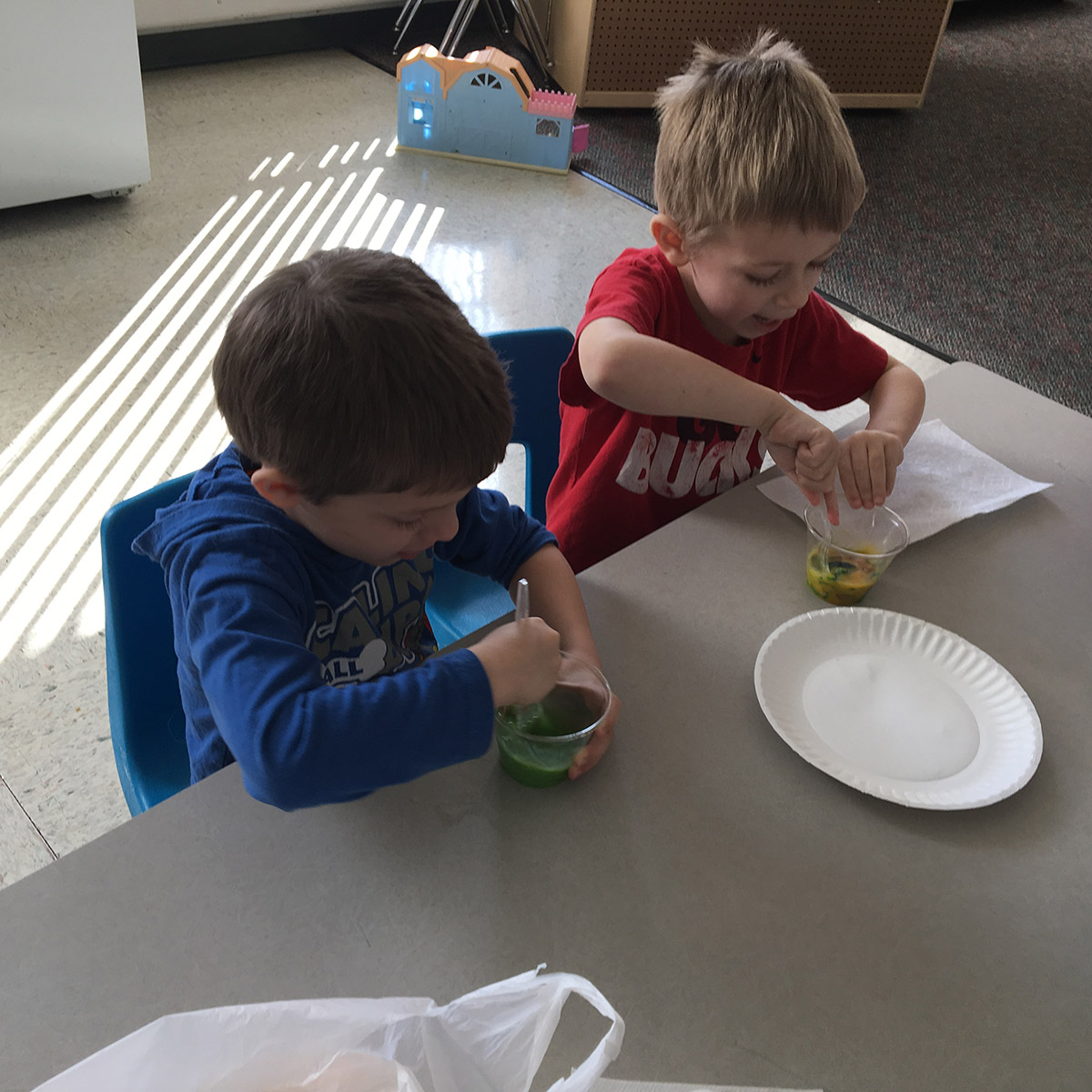 Cooking Fun at Little Sprouts Preschool in Waterford