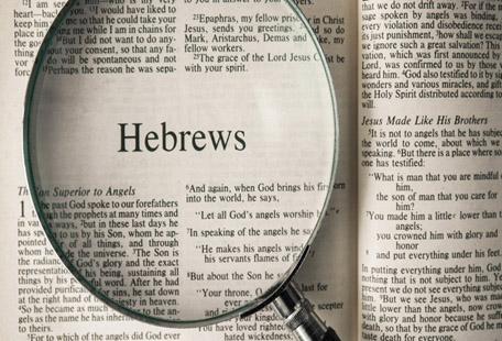 Message - Book of Hebrews