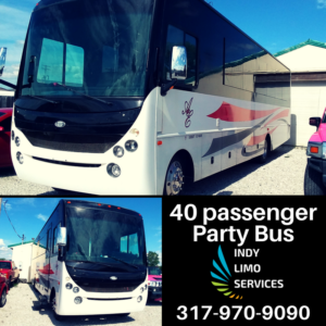 40 passenger Party Bus - Indy Limo Services Fleet