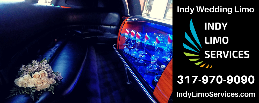 Indy wedding limo from Indy Limo Services