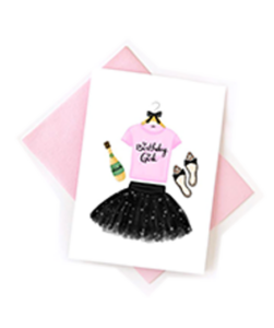Add a Unique Greeting Card by Pretty In Pink?