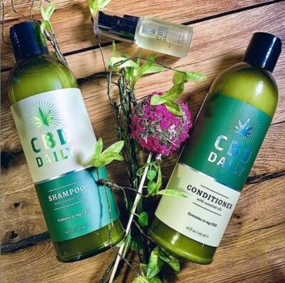 CBD Daily Hair Care Products