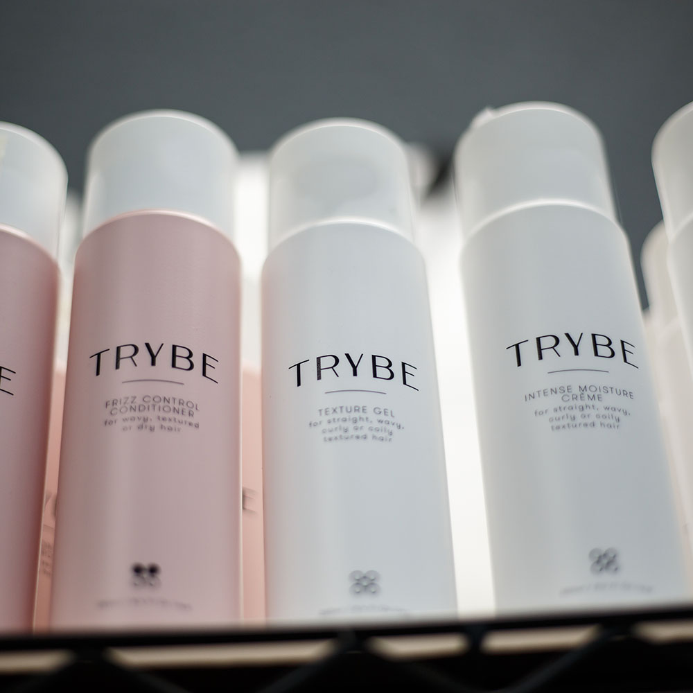 TRYBE Hair Products at First Impression Salon