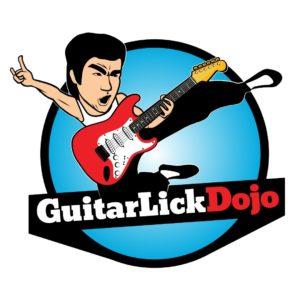Guitar Lick Dojo Square Logo