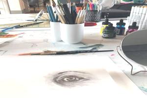beginner drawing class