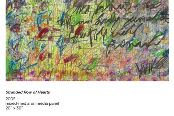 Stranded Row of Hearts