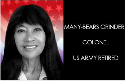 Many-Bears Grinder, Colonel, US Army Retired
