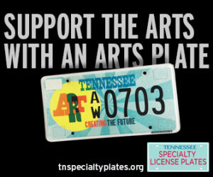 Support the Arts TN License Place