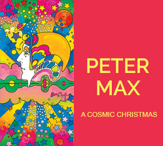 Peter Max A Cosmic Christmas