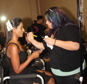 April Love Pro Makeup 4Chion Lifestyle backstage