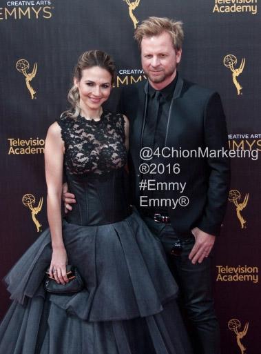 Gary Kordan and Justine Ungaro Emmys® Creative Arts