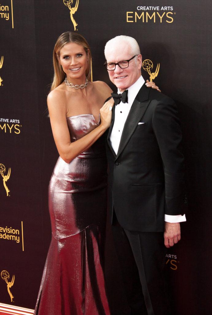 Heidi Klum and Tim Gunn Emmy's Creative Arts 2016 Red Carpet 4Chion LIfestyle 70th Emmys®
