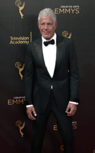 Anthony Bourdain Emmy's Creative Arts 2016 Red Carpet 4Chion Lifestyle