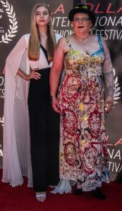 Grace Wethor Daniel Chimowitz La Jolla Fashion Film Festival Red Carpet Tammy Forchion LJFFF 4Chion Lifestyle