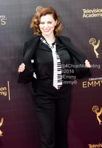 Rachel Bloom Emmys Red Carpet 4Chion Lifestyle