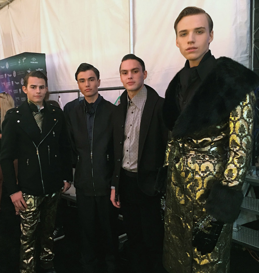 Malan Breton Backstage Style Fashion Week 4Chion Lifestyle