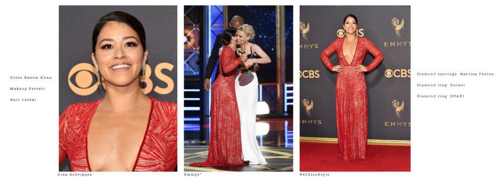 Gina Rodriguez Emmys 4chion Lifestyle