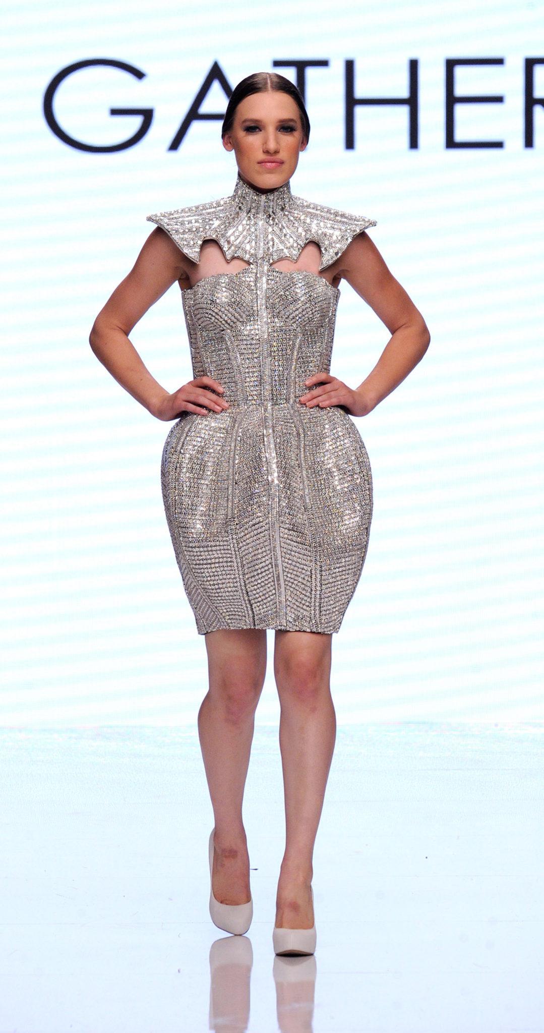 Rocky Gathercole At Los Angeles Fashion Week SS18 Art Hearts Fashion LAFW 4chion Lifestyle
