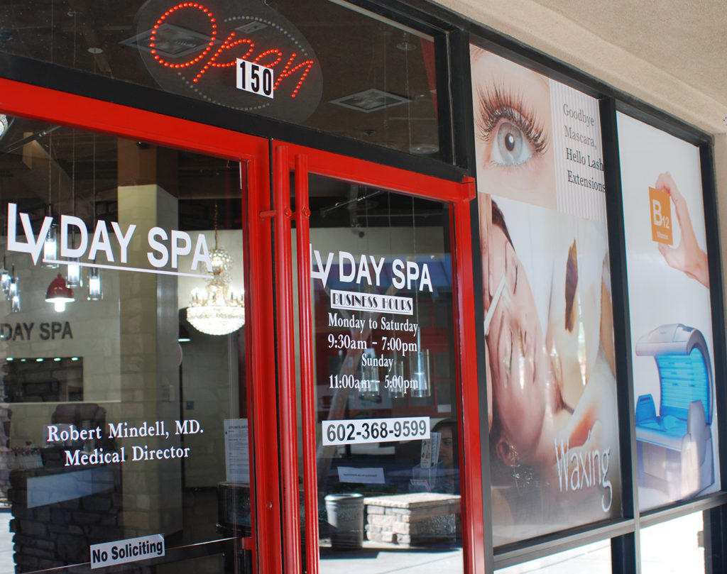 LV Day Spa Nails Feet 4Chion Lifestyle d