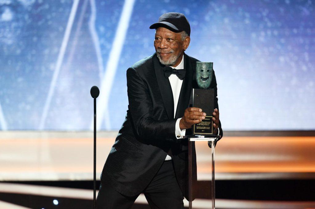 Morgan Freeman Lifetime Achievement recipient SAG Awards 4Chion Lifestyle a