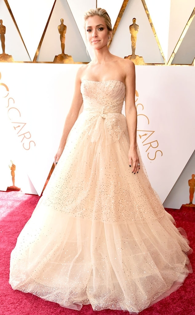 Kristin Cavallari arrives on the red carpet of The 90th Oscars® 4Chion Lifestyle b