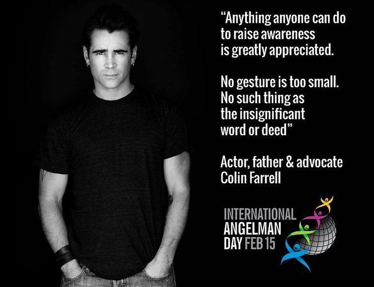 Colin Ferrell NYC Angelman Syndrome