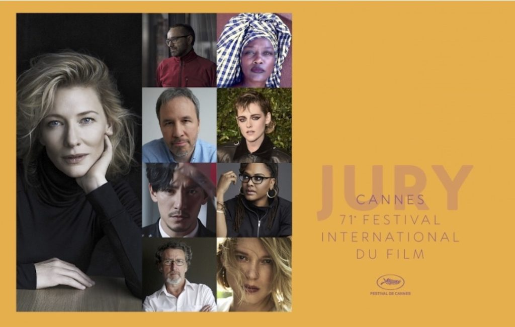The Jury of the 71st Festival de Cannes® 4chion Lifestyle