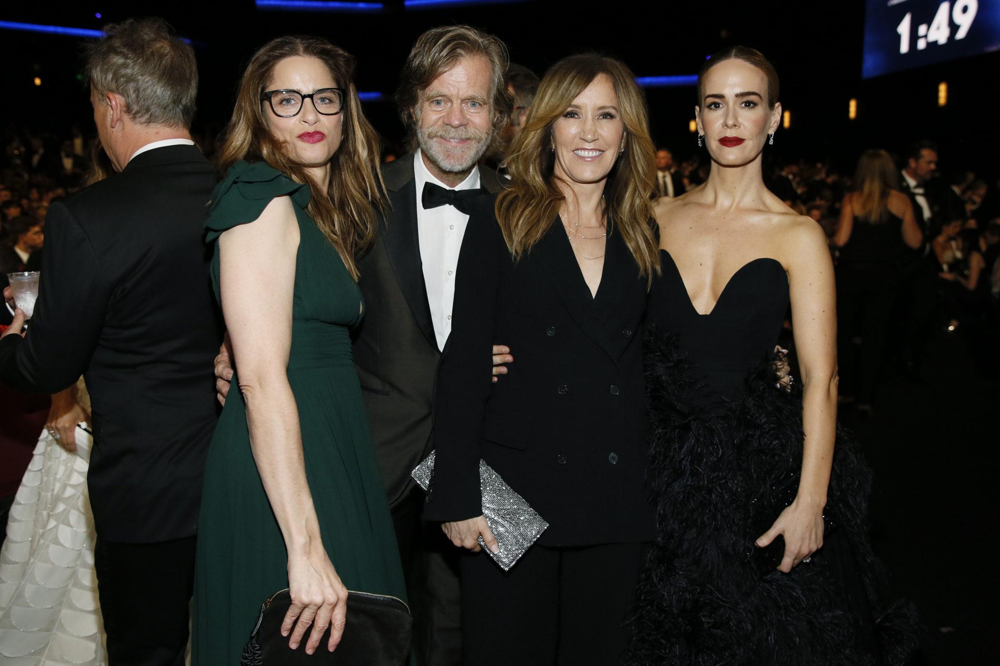 Amanda Peet, William H. Macy, Felicity Huffman, Sarah Paulson Emmy 4chion lifestyle