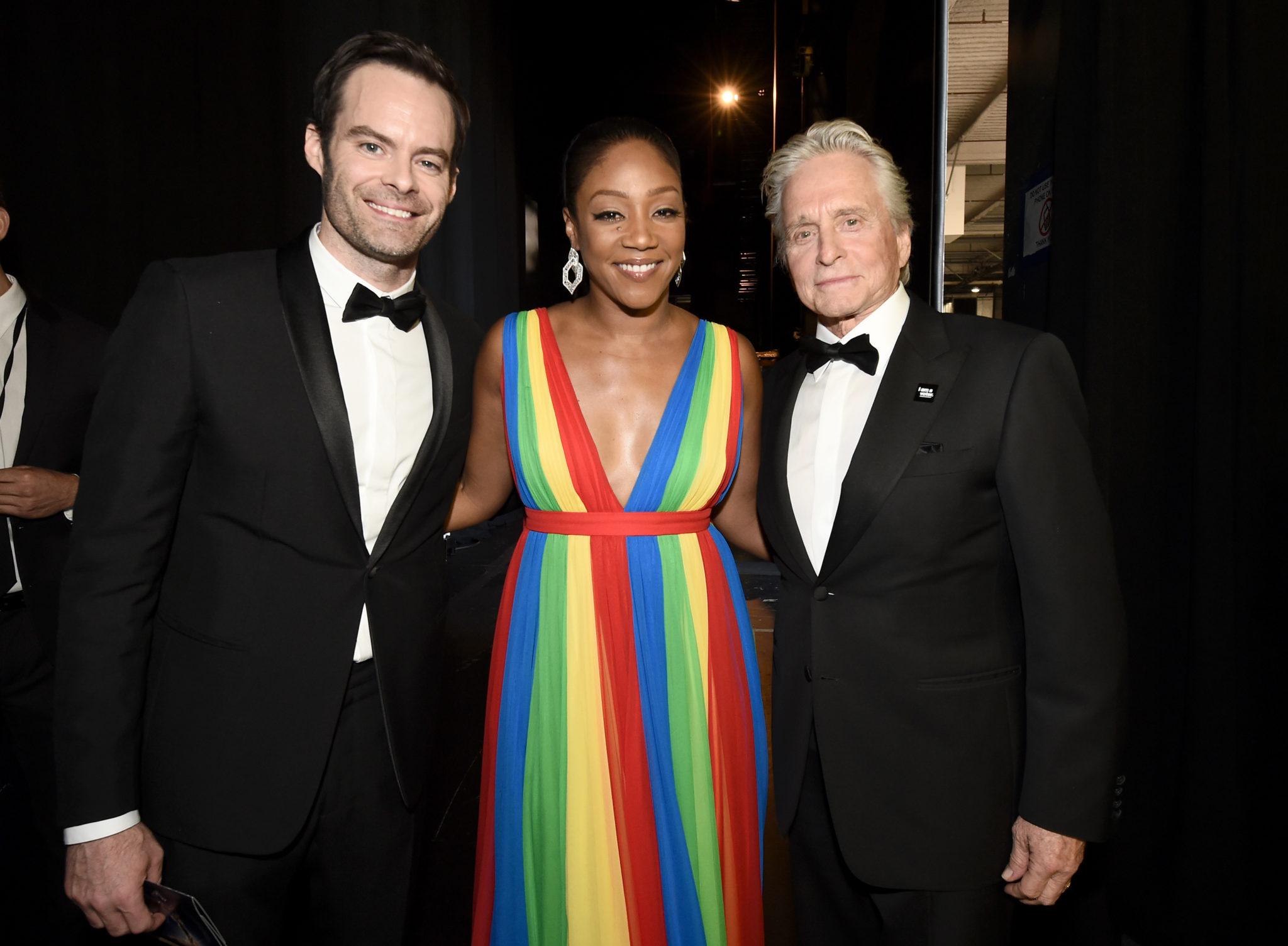 Bill Hader, Tiffany Haddish, Michael Douglas 4Chion Lifestyle Emmy