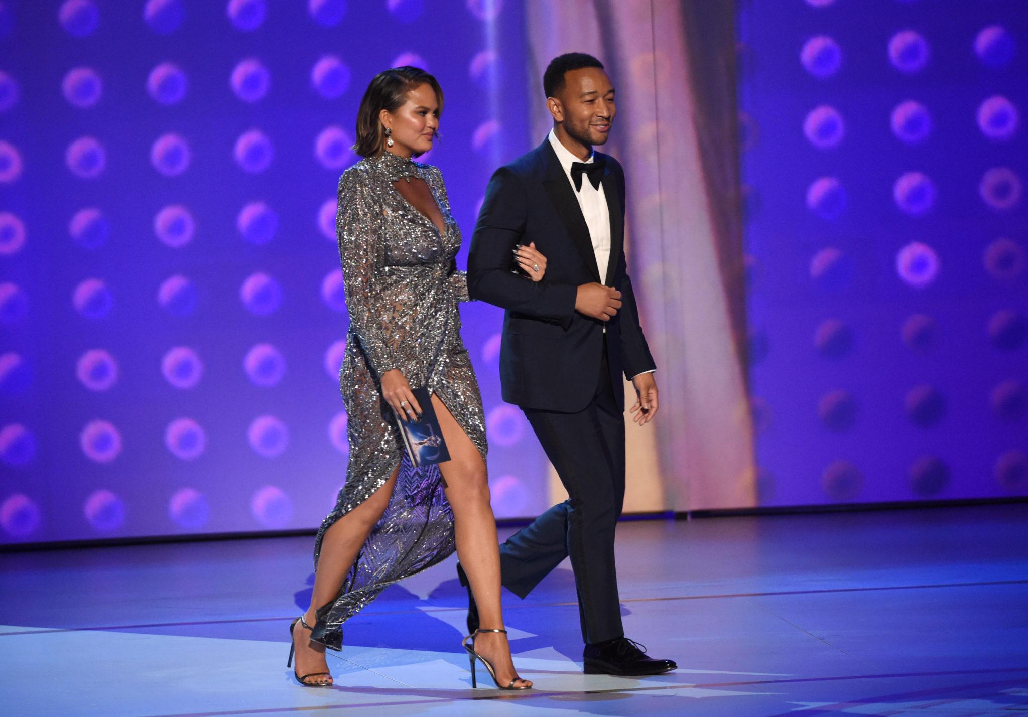 Chrissy Teigen, John Legend Emmys 4Chion Lifestyle
