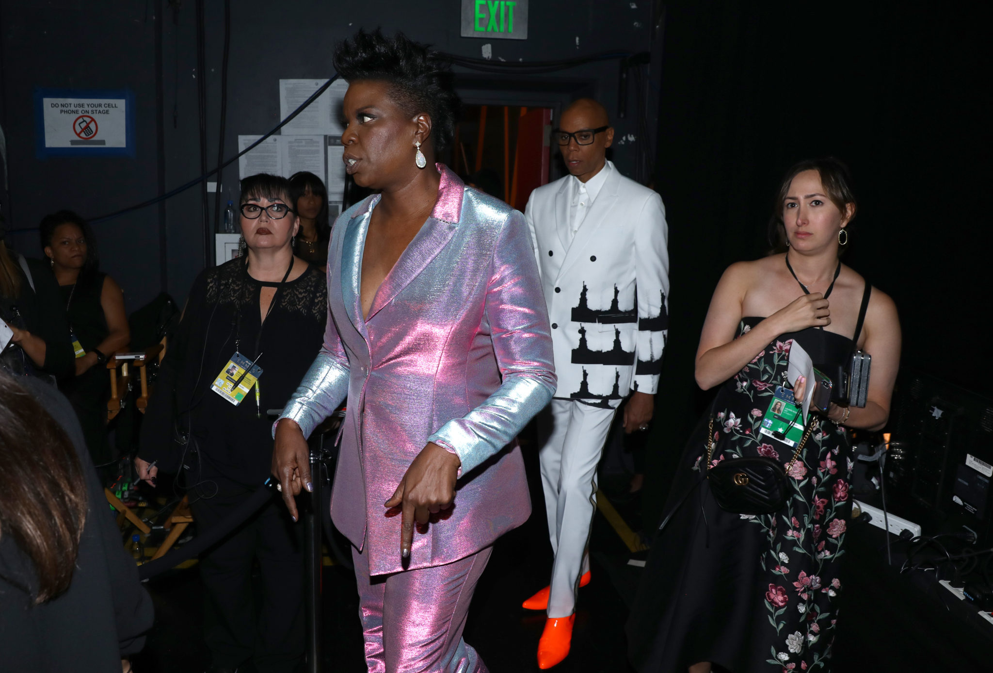 Leslie Jones, RuPaul Charles Emmys 4Chion Lifestyle