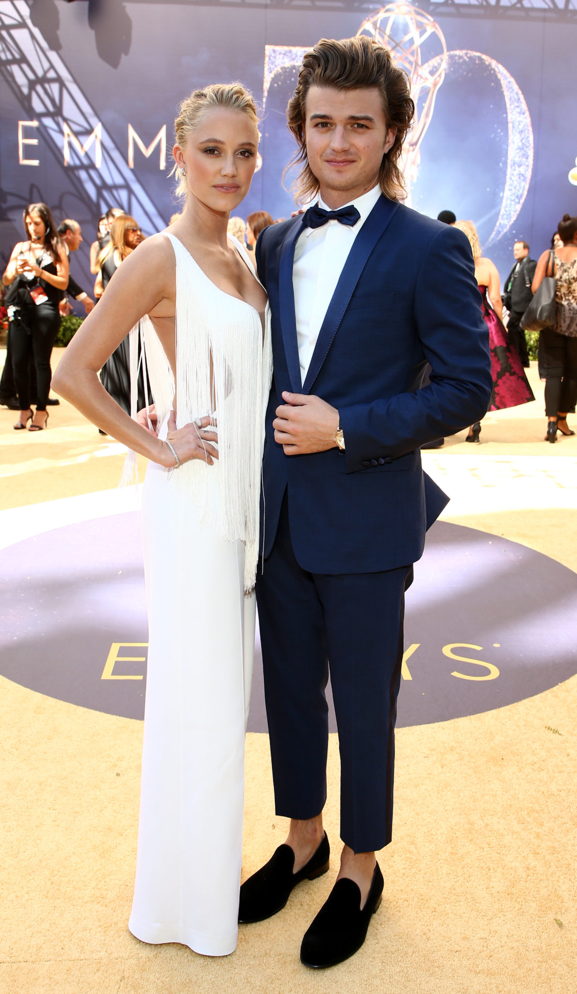 Maika Monroe, Joe Keery Emmys 4Chion Lifestyle