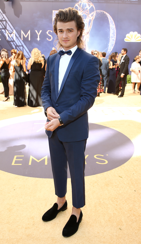 Joe Keery Emmys 4Chion LIfestyle