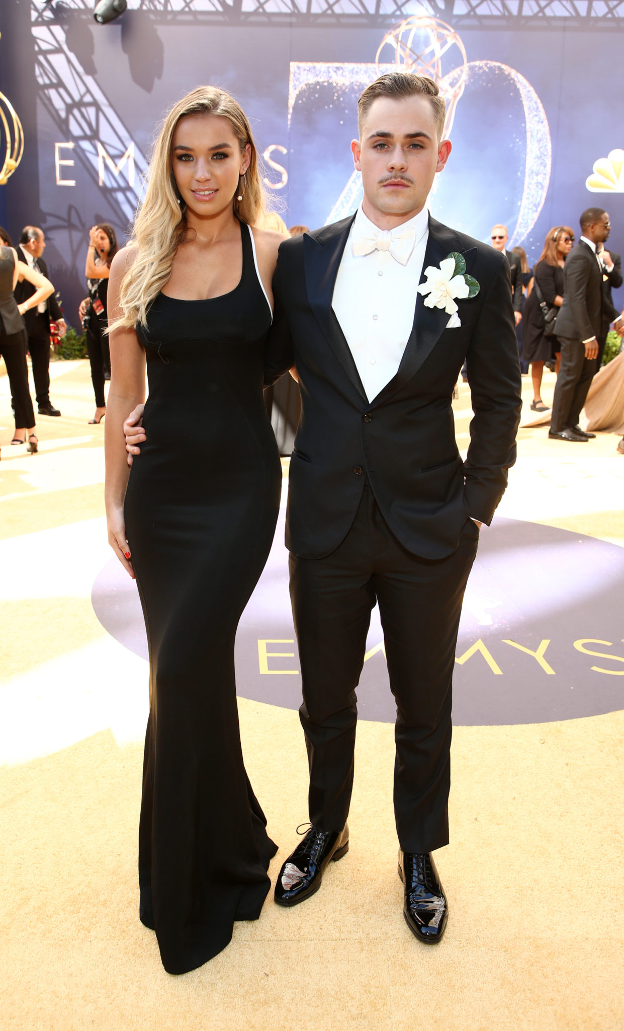 Liv Pollock, Dacre Montgomery Emmys 4Chion LIfestyle