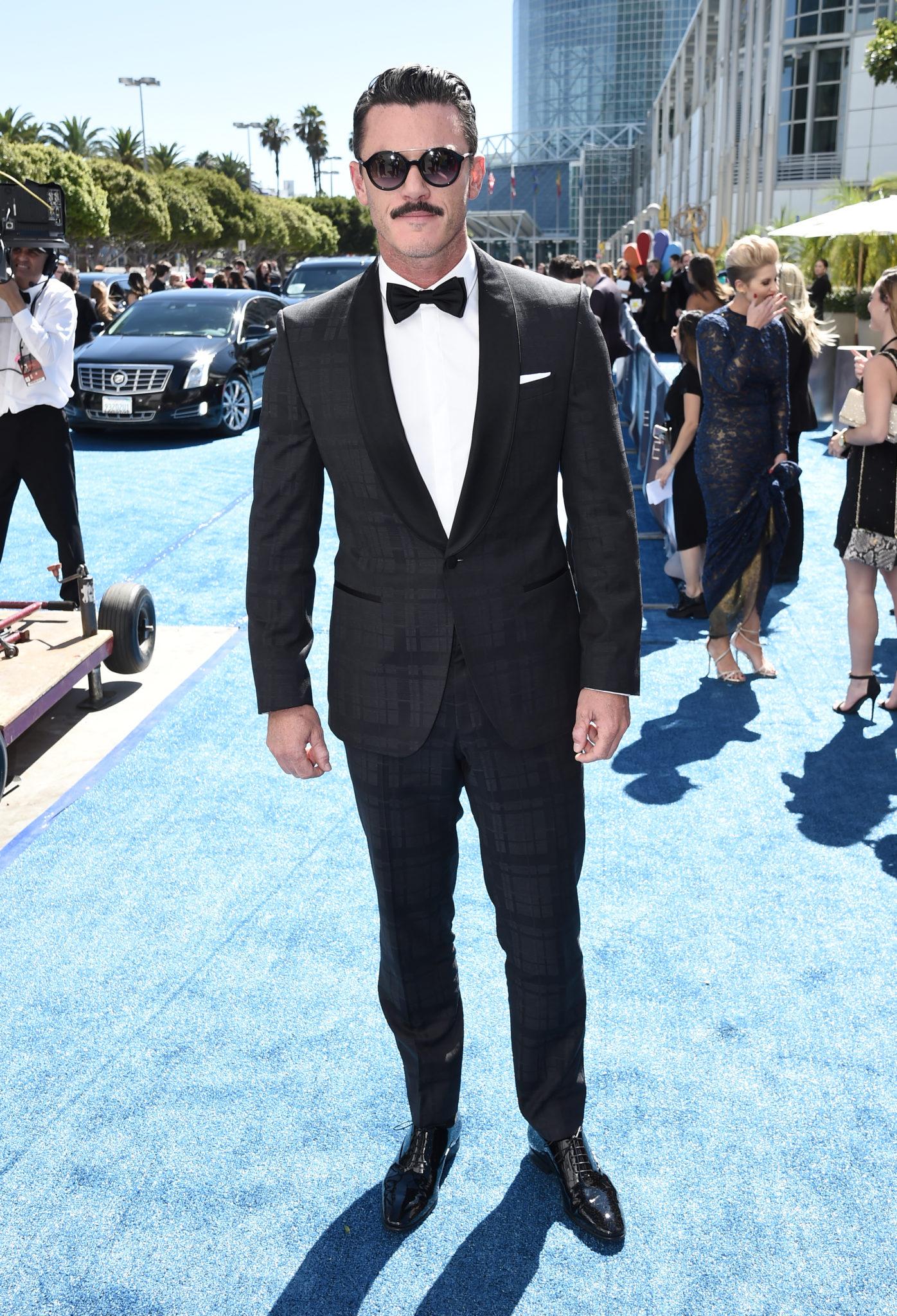 Luke Evans Emmys 4Chion LIfestyle