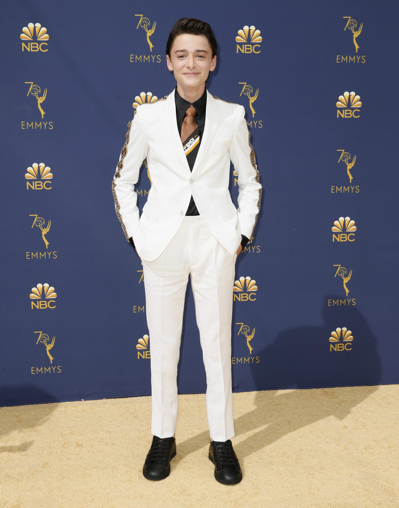 Noah Schnapp Pollock, Dacre Mo Emmys 4Chion LIfestyle