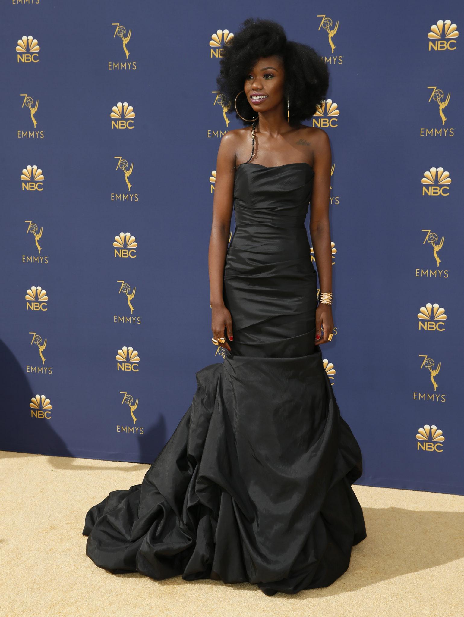 Xosha Roquemore Emmys 4Chion Lifestyle