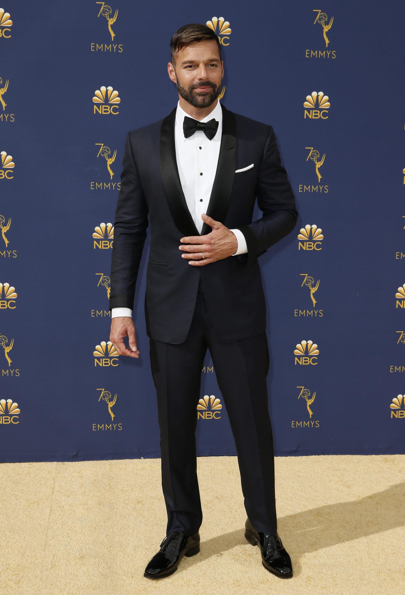 Ricky Martin Emmys 4Chion Lifestyle
