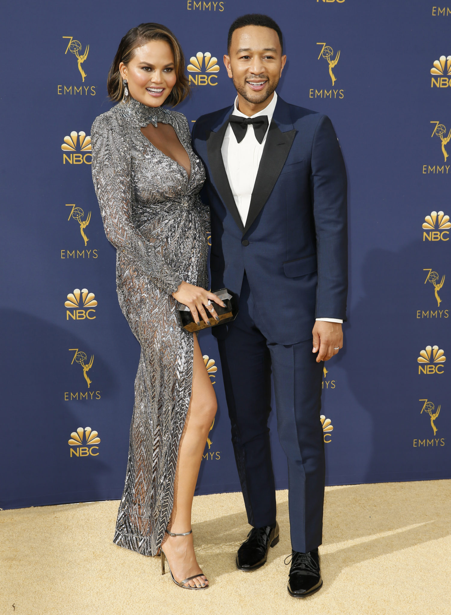 John Legend, Chrissy Teigen Emmys 4Chion Lifestyle