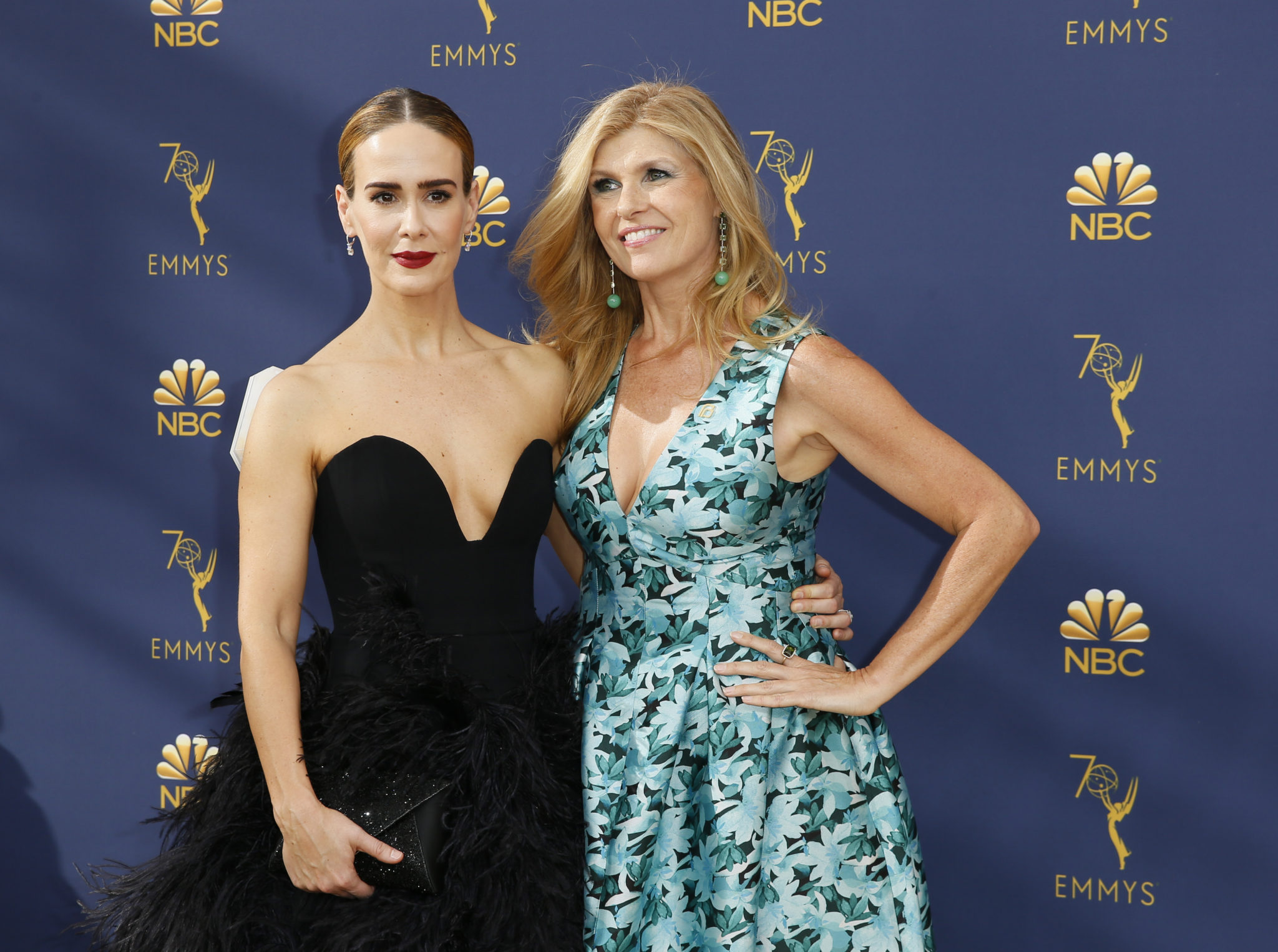 Connie Britton, Sarah Paulson Emmys 4Chion Lifestyle