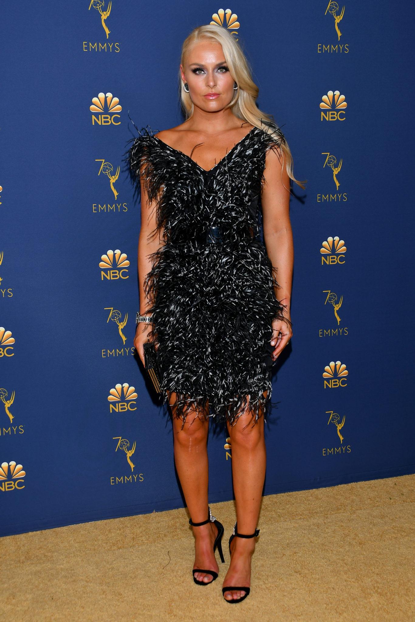 Lindsey Vonn Emmys 4Chion Lifestyle
