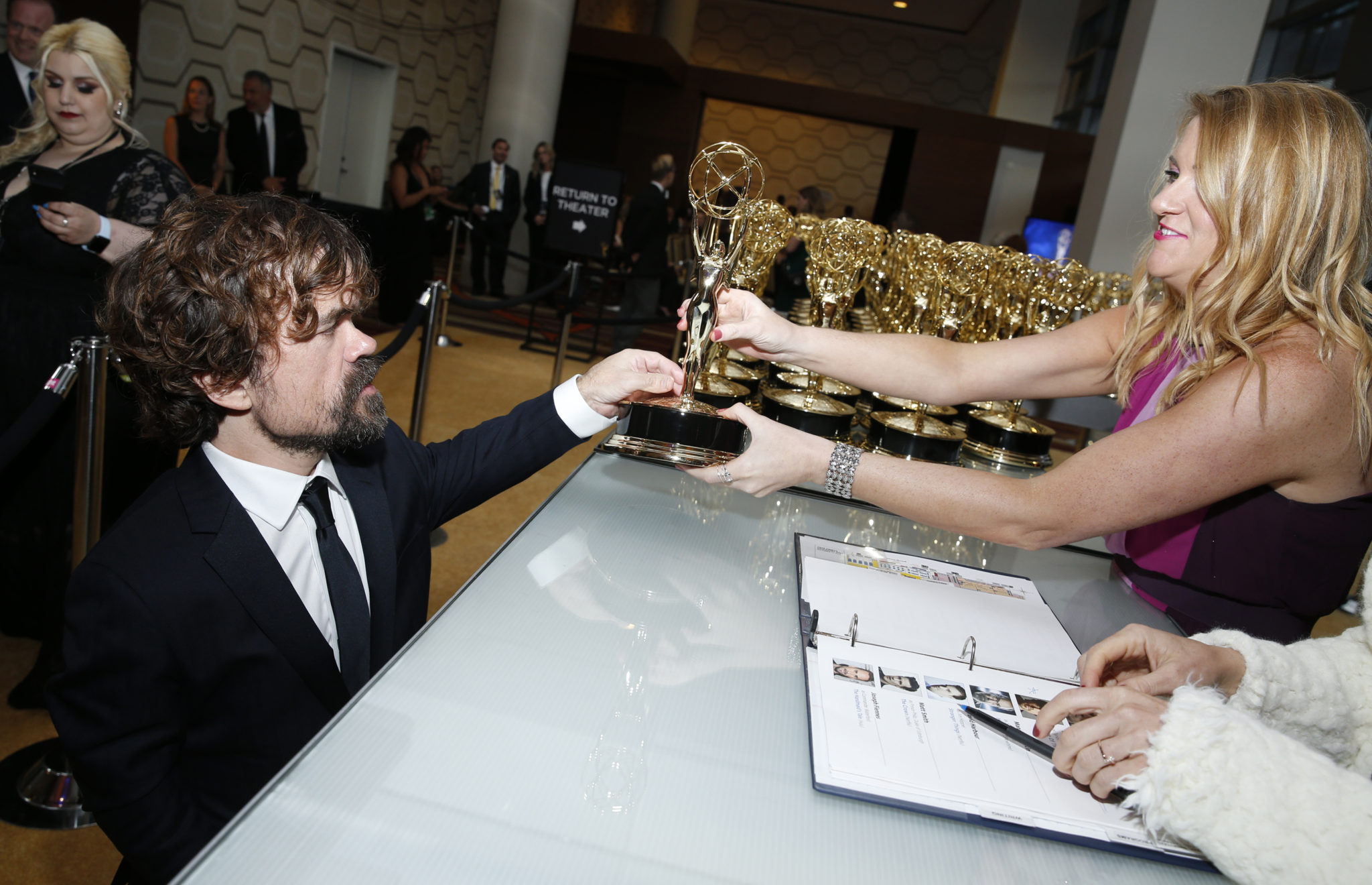 Peter Dinklage Emmys® 4Chion Lifestyle