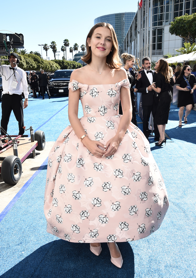 Millie Bobby Brown Emmys 4Chion Lifestyle