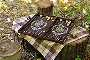 Handmade Wooden Backgammon Board Game amazon ad 4chion lfiestyle