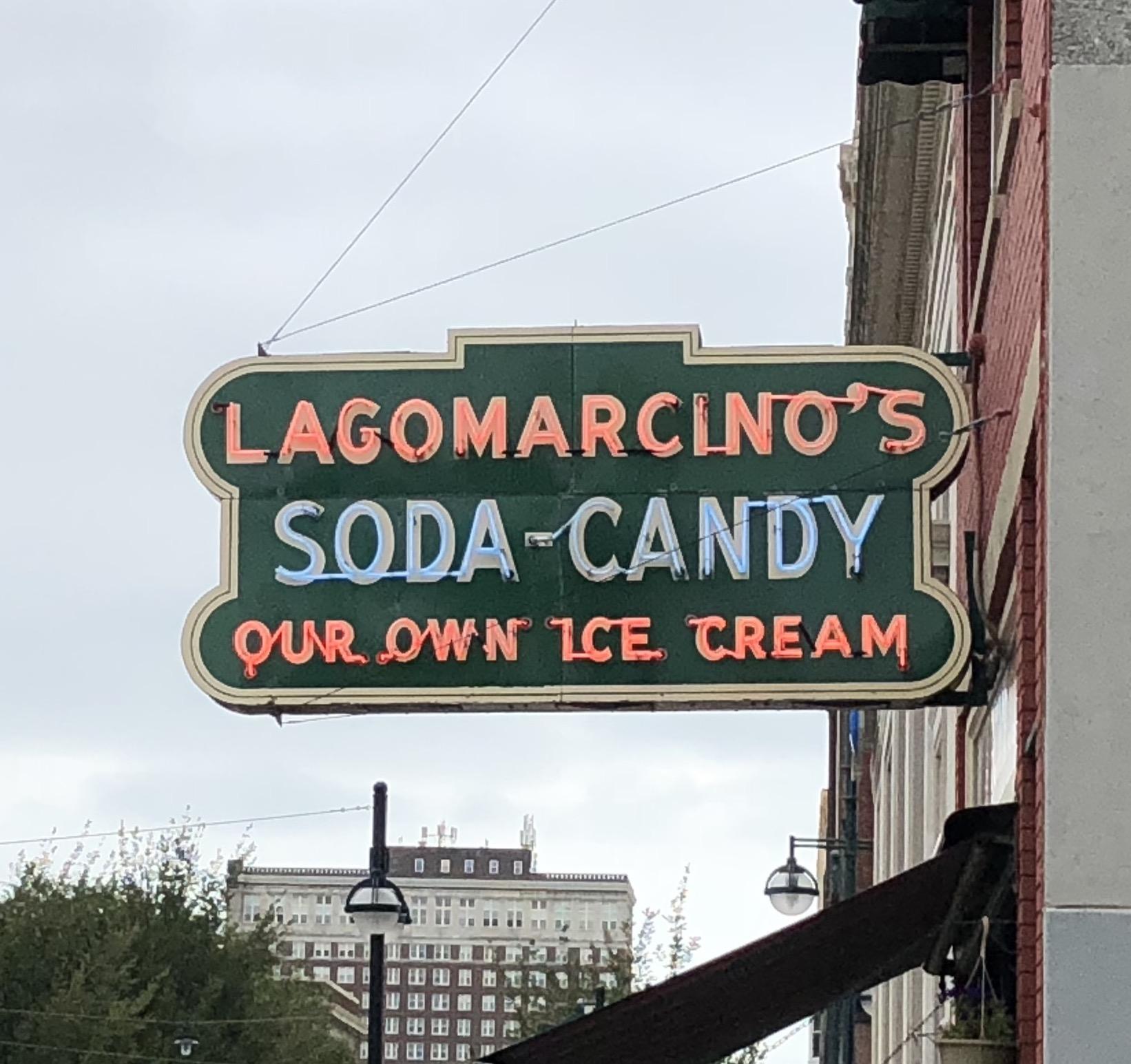 Lagomarcino's Confectionery Soda shop road trip 4chion lifestyle