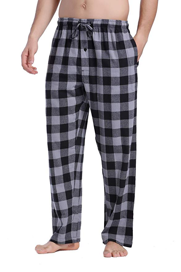 flannel Plaid Pajama Pants amazon ad 4chion lifestle